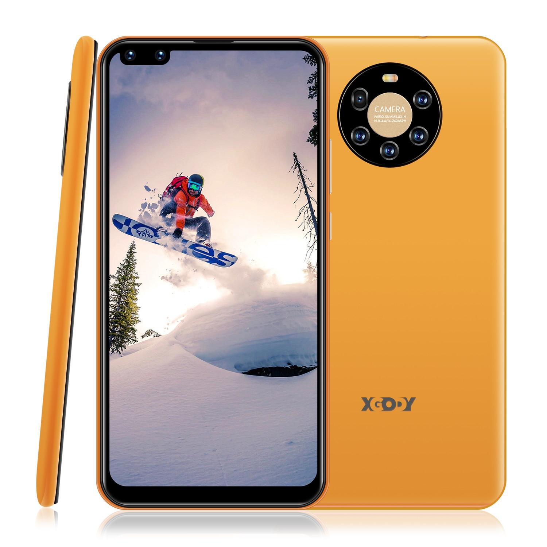 6.72 inch Smartphone 3G Phone Face ID Android 8.1 Full Screen 1GB 8GB SC7731E Quad Core 5MP 2800mAh WiFi Unlocked Mobile Phones