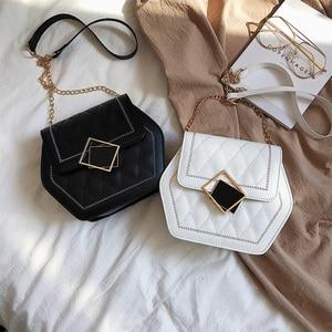 Alligator PU Women Shoulder Totes Bag Portable Small Chain Handbags Youth Ladies Simple Versatile Bag