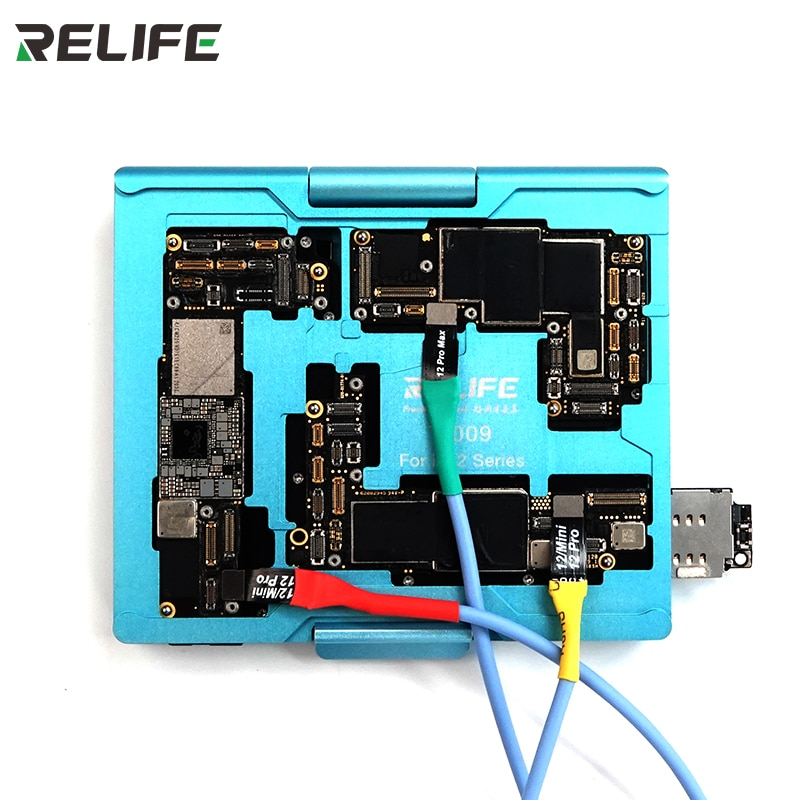 RELIFE T-009 Motherboard  4 In 1 Middle Simple Tester With Precise Hole Pitch Design For IP12 Series Detection  Tester