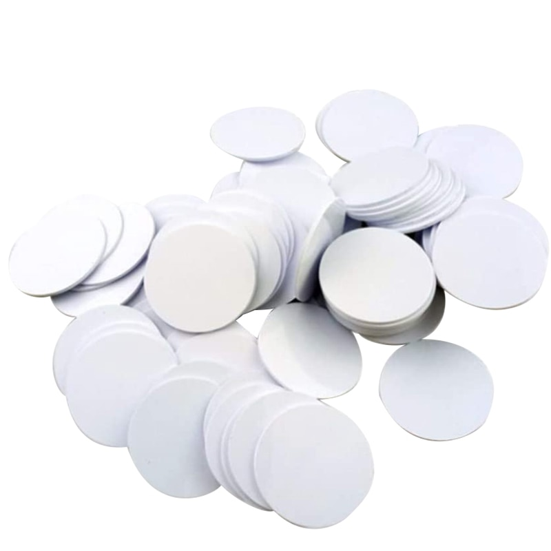 for Ntag215 NFC Tags,Blank PVC Coin NFC Cards Compatible with All NFC Enabled Mobile Phones & Devices-(30PCS)
