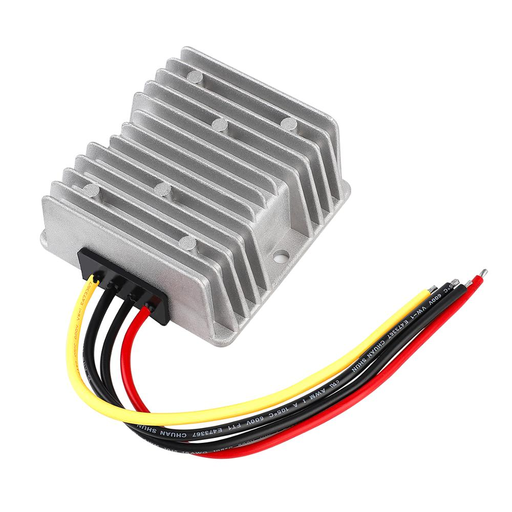 9V-40V to 24V 6A 144W Stabilizer DC DC Converter Transformer Regulator Step Up Down Boost Buck Module Power Supply for Car LED