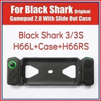 h88l h66rs original black shark 3 3s gamepad with slide out case right side joystick global accessories