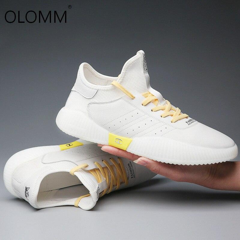 ¡Novedad de 2019! Zapatos informales transpirables de moda para Hombre, Calzado informal...