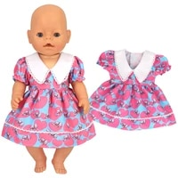 43cm doll clothes dressjumpsuit outfits for zapf newborn baby american 18 inch girl dolls 16 18 inch nenuco doll accessories