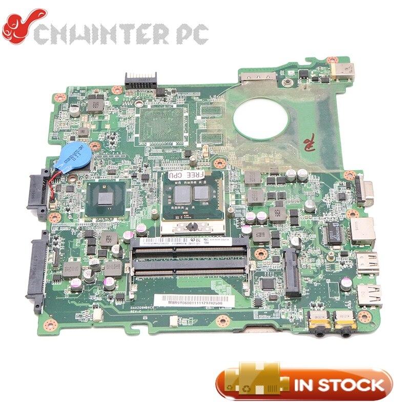 NOKOTION DA0ZQ9MB6C0 MBR9Y06001 MB. R9Y06.001 для Acer aspire 4738 4738z материнская плата для ноутбука HM55 DDR3 Бесплатный процессор