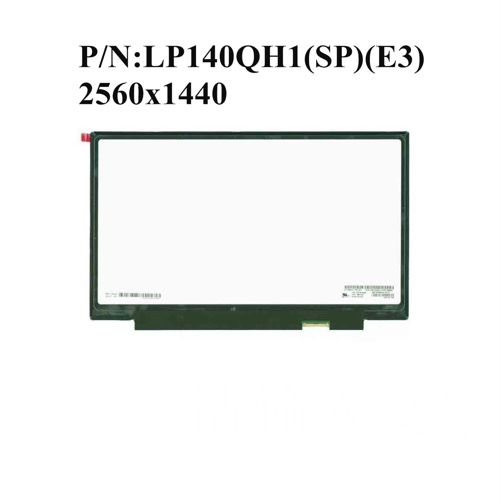 Original para Lenovo Thinkpad Yoga X1 QHD LP140QH1 (SP) (E3) montaje de pantalla táctil LCD de 40 Pines de 2560x1440