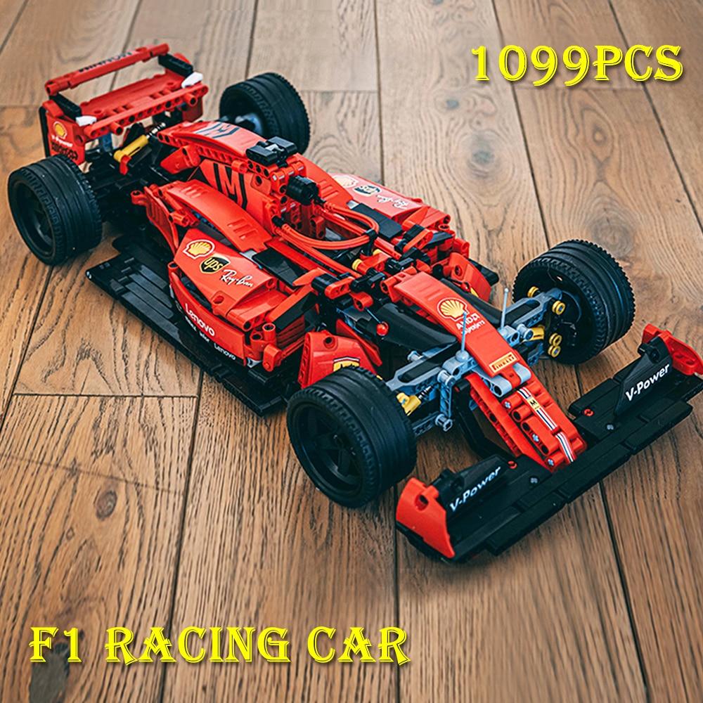 Creator Expert High-tech 023005 RSR Super Racing Car GTE SUV Sports Vehicle Building Blocks Moc Model Modular Bricks Boys Toys