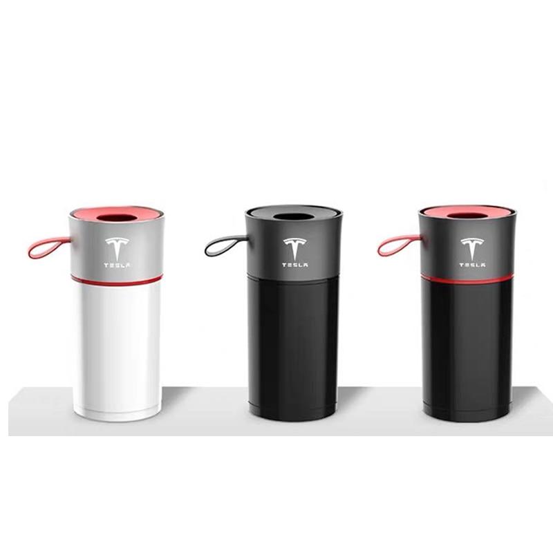 For Tesla Model 3  S tesla model  X Y Aluminum Alloy Car Tissue Box Paper Holder For Tesla series Accessories