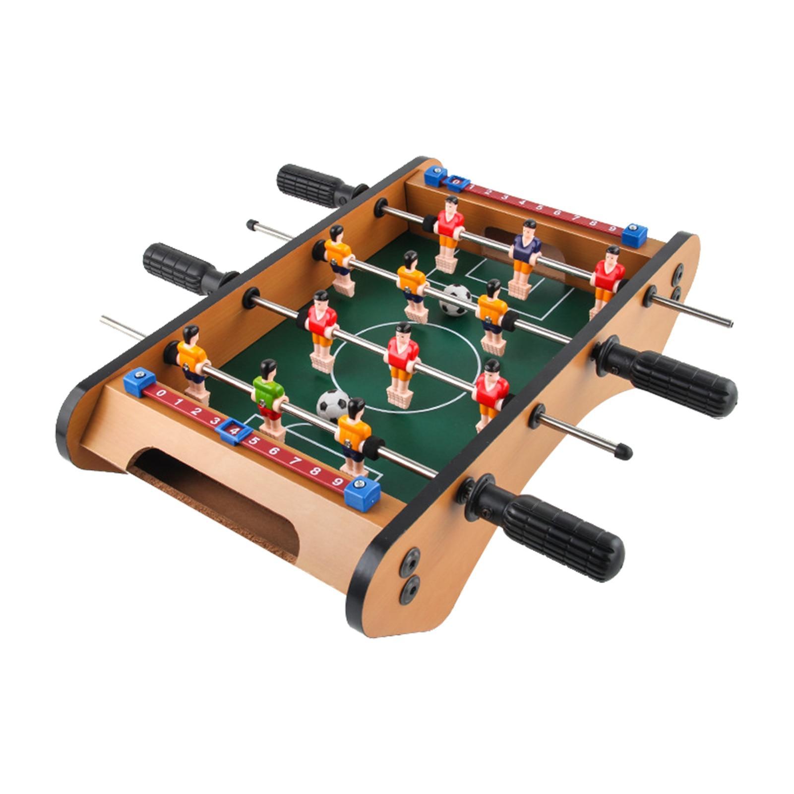 Взрослые дети настольный футбол настольная игра комнатная столешница футбол игрушки для детей на Рождество или день рождения, Вечерние игр...