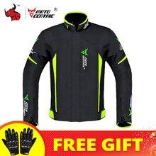 Мотоциклетный комплект MOTOCENTRIC, водонепроницаемая куртка для мотокросса + брюки, защита для тела, ветрозащитная одежда для езды на мотоцикле на 4 сезона