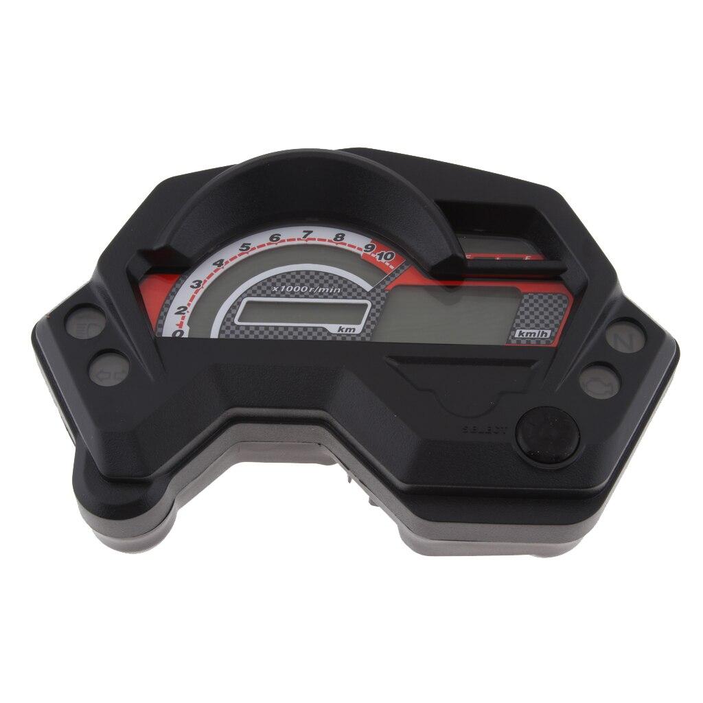 Lcd digital velocímetro odômetro tacômetro para yamaha fz16 fz 16 fazer