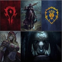 world of warcraft hero picture 5d diy diamond painting full drill mosaic picture cross stitch kit home decoration handmade gift