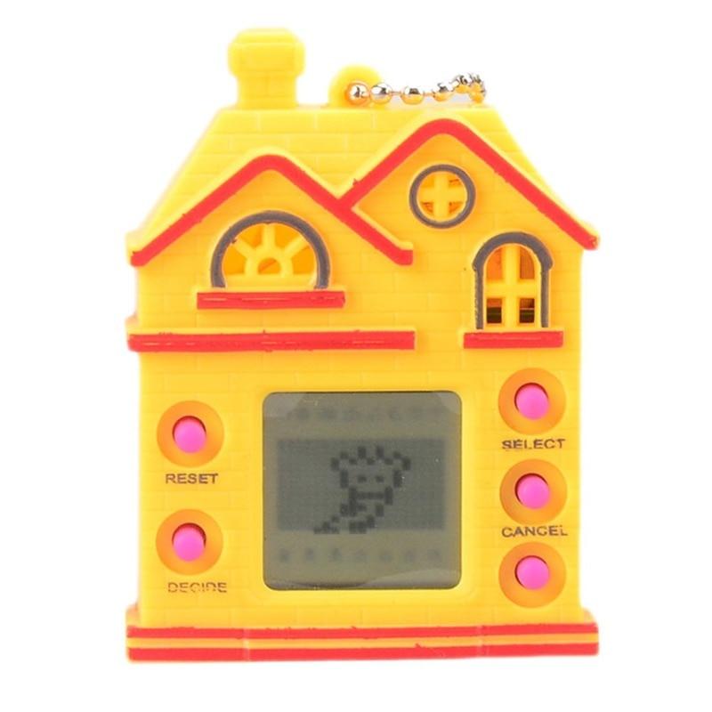 Funny 168 Pets Virtual Digital Game Machine Nostalgic Virtual Cyber Electronic Interactive Toys Gifts   game peices digital interactive installations