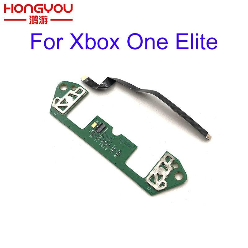 Paletas de placa de circuito trasero PCB originales usadas P1 P2 P3 P4 para el controlador inalámbrico Xbox One Elite con Cable plano