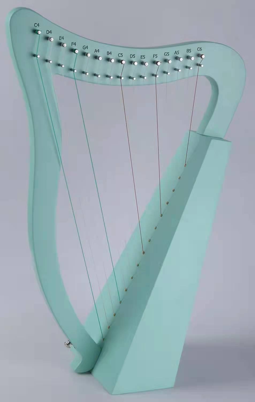 Instrument Lyre Music Harp 19 String Accessories Green Harp Pink 15 String Blue Strumenti Musicali Musical Instruments EI50HP enlarge