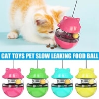 cat toy slow leaking food ball educational tumbler safe durable pet supplies mjj88