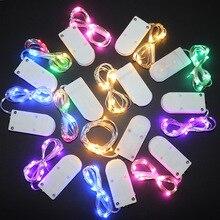1M 2M 3M 5M Led String Verlichting Vakantie Verlichting Fairy Guirlande Kerst Decoraties Voor Home Decor nieuwe Jaar Navidad 2019 Natal. Q