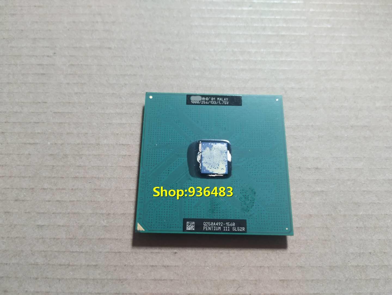 "FreeShipp, 1 Uds., P3 1.0GH 1000/256/133/1.75V 370CPU SL52R Pentium III zócalo 370 pines CPU ""usado"", pase de prueba de buena calidad"