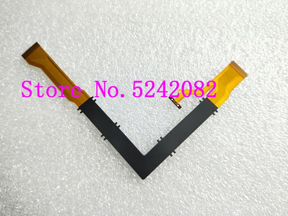10 piezas/nuevo eje giratorio LCD Flex Cable para CASIO EX-ZR3500 EX-ZR2000 ZR2000 ZR3500 ZR3600 cámara Digital de reparación de la parte