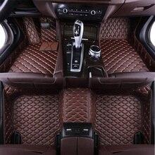 Deri için özel araba paspaslar Hyundai solaris ix35 i30 ix25 Elantra accent tucson Sonata araba deri su geçirmez