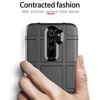 for xiaomi redmi note 8 pro case soft silicone rugged shield shockproof armor protect back cover case for xiaomi redmi note8