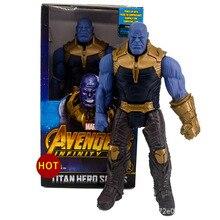 Disney marvel brinquedos 30 cm marvel avengers endgame thanos hulk figura de ação brinquedos figura conjunta móvel presentes brinquedos com caixa delicada