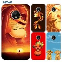 The Lion King Simba Cartoon Printed Riverdale Soft Rubber Case For Motorola Moto G7 Power G6 G5 G5S E4 E5 Plus G4 Play Cover