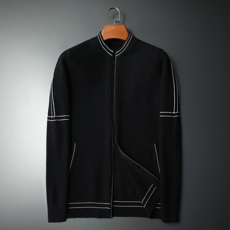 Cárdigan de punto informal para Hombre, abrigos de moda para Hombre, jerseys...