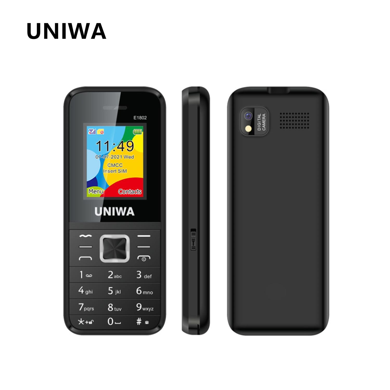 UNIWA E1802 клавиатура для телефона, телефоны с кнопками, длительное время ожидания, FM, GSM, радио, Русская Иврит Клавиатура, мобильный телефон