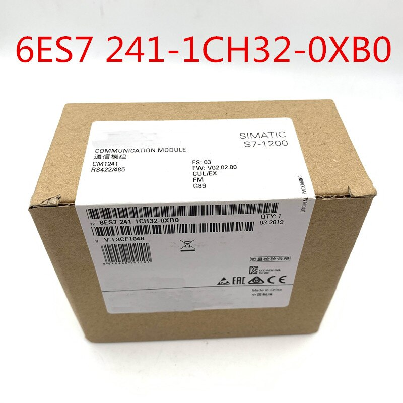 6ES7 241-1CH32-0XB0 6ES7241-1CH32-0XB0 S7-1200 6ES7241-1CH30-1XB0 nuevo original en caja PLC