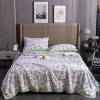 friesian antibacterial soybean fiber summer cool four piece quilt tencel summer quilt single and double air conditioned