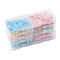50pcsbox colorful hair clips child metal hairgrip solid color kids snap hairpins baby mini hair barrettes hair accessories