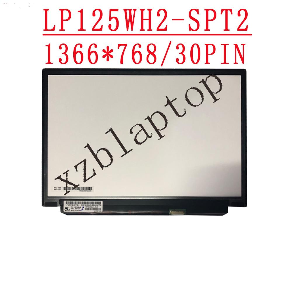 لينوفو x240 x250 x260 محمول شاشة LP125WH2-SPT2 12.5 ''1366X768 HD LED IPS شاشة عرض P/N:SD10K93449 FRU:00NY414