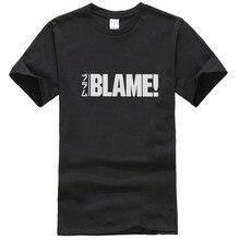 T-Shirt de faute drôle pour les hommes col rond coton t-shirts Sidonia Manga Industries lourdes Nihei Tsutomu Anime t-shirts à manches courtes