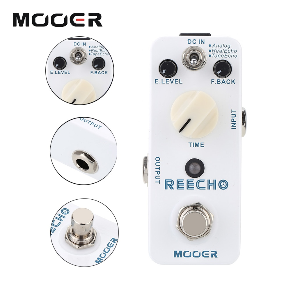 mooer-guitar-pedal-mdl2-reecho-effect-digital-delay-electric-bass-musical-instruments-accessories-for-guitar-effector-processor