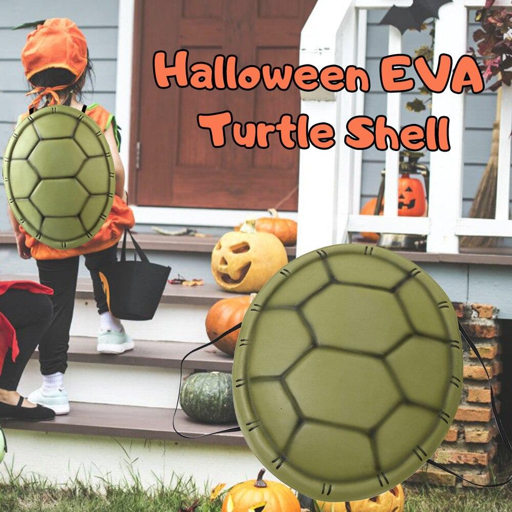 Cosplay traje de concha adolescente tartaruga adereços mutante tartarugas ninja fantasiar-se festa de halloween discoteca carnaval decoração suprimentos # t5p
