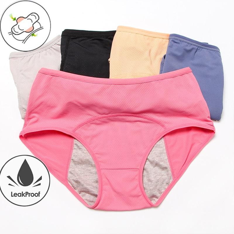 Leak Proof Menstrual Panties Underwear Women Period Panties Seamless Panties Women High Waist Bragas Menstruales Absorbentes