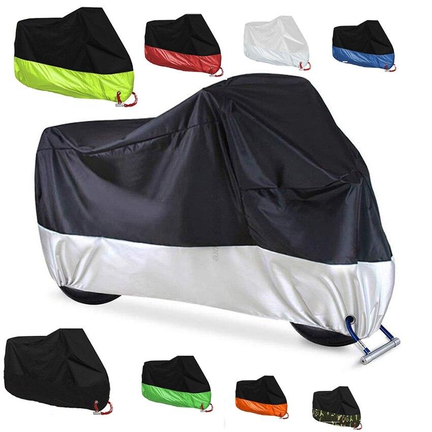 Anti uv-Accesorios de la motocicleta cubierta protector impermeable para Yamaha Honda Cb...