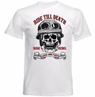 2021 new arrival funny 3d printed tees short sleeve t shirt mens tops motorcycle ride fast skull biker nerd t shirt