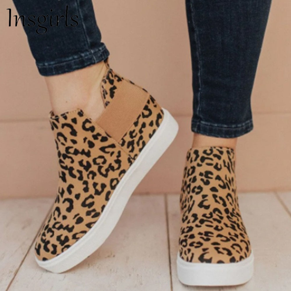 Women's Trendy Sneakers 2021 All Season Height Increasing Comfy Casual Canvas Shoes 36-43 Large-Size