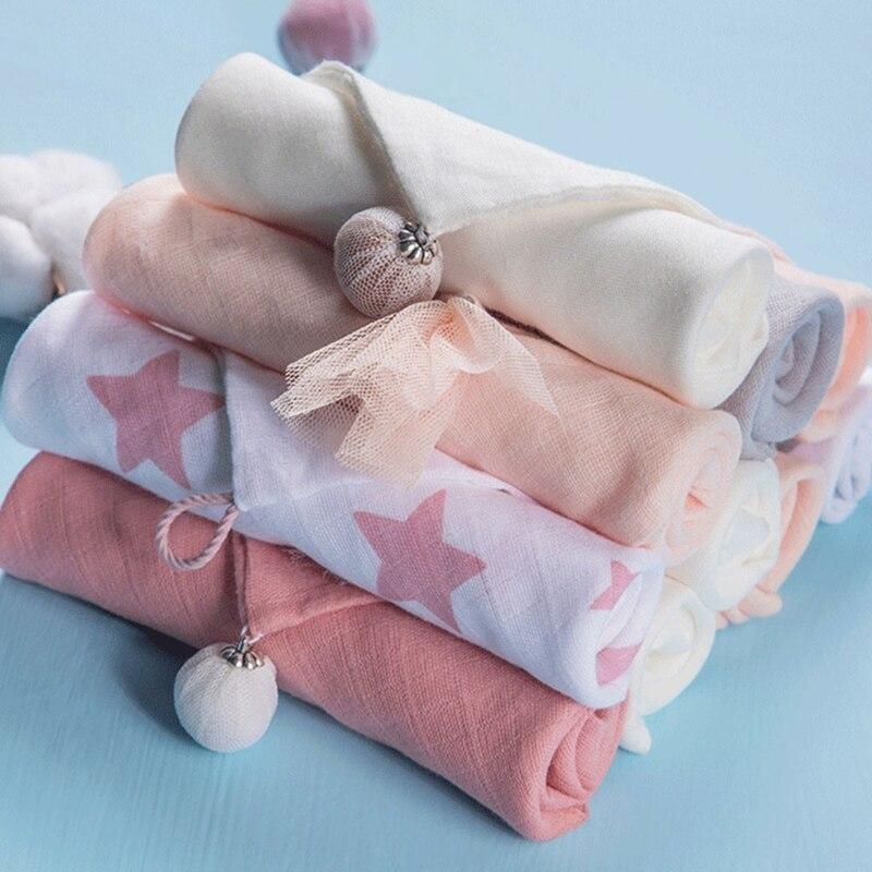 Детские нагрудники, хлопковый тканевый носовой платок, впитывающий слюнявчик для новорожденных, банное полотенце для младенцев, детские ве...