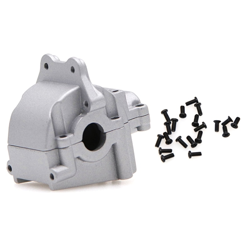 Alloy Gearbox Cover Gear Box Housing Shell for Wltoys 144001 1/14 RC Model Car R7RB enlarge