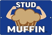husband father friend metal tin sign wall decor bar stud muffin