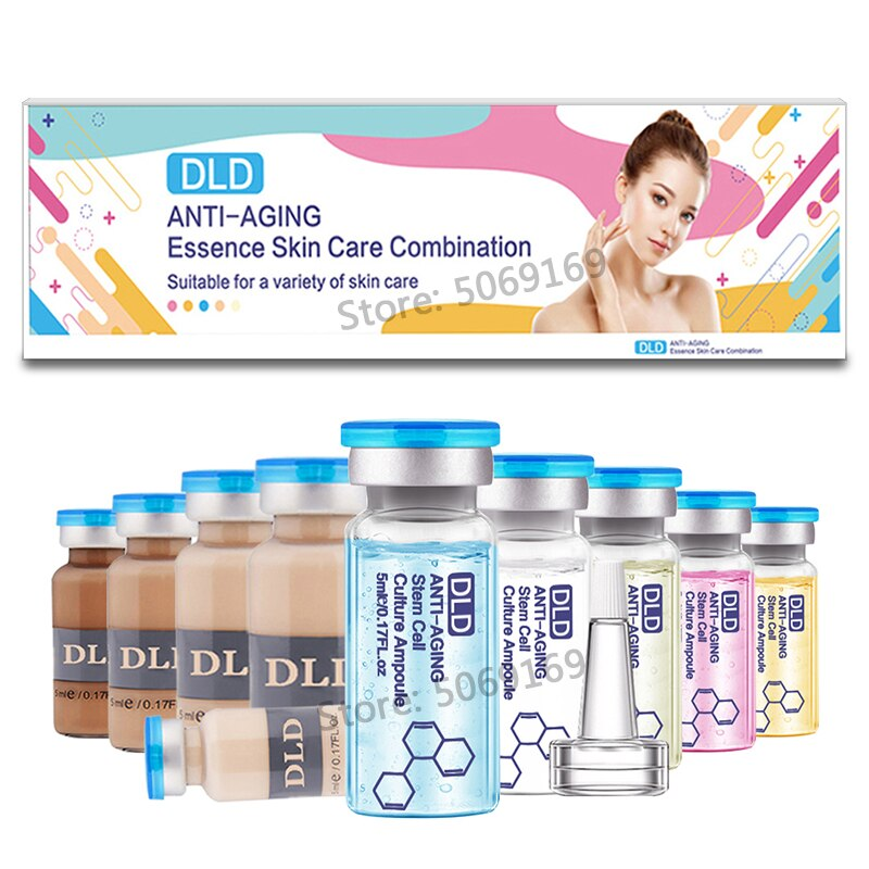 5ml 10 Uds crema BB Korea glow ampolla meso starter kit mezcla tonos iluminador Fundación acné curación Derma blanco MTS tratamiento