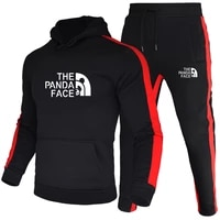 mens casual sportswear 2021 new mens zip up hoodie and sweatpants two piece sportswear high quality fall mens wear