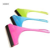 Practical Glass Window Wiper Soap Cleaner Soft TPR Blade Home Shower Bathroom Mirror Scraper Car Windshield Wiper
