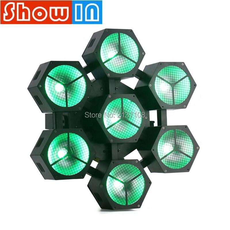 Luz estroboscópica de lavado de haz RGBW COB de 40 W, Proyector láser de Navidad DMX512 DJ Fiesta disco efecto de iluminación de escenario Iluminacion DJ