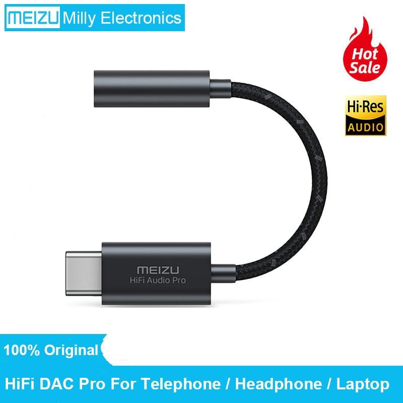 Оригинал Meizu HIFI DAC усилитель для наушников PRO декодирование type-C до 3,5 мм аудио-адаптер Высокая производительность