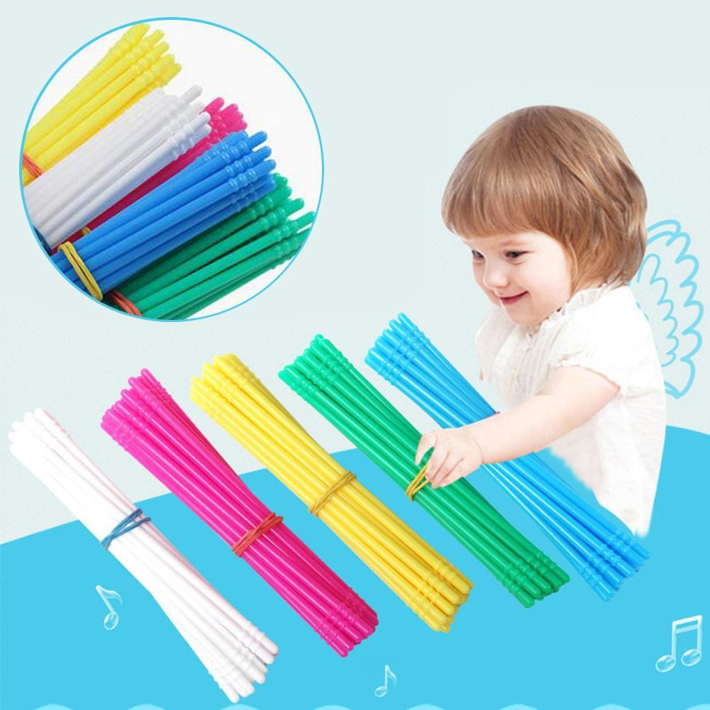 100Pcs/Set Colorful Counting Sticks Rods Arithmetic Learning Education Kids Toy Montessori Toddler E