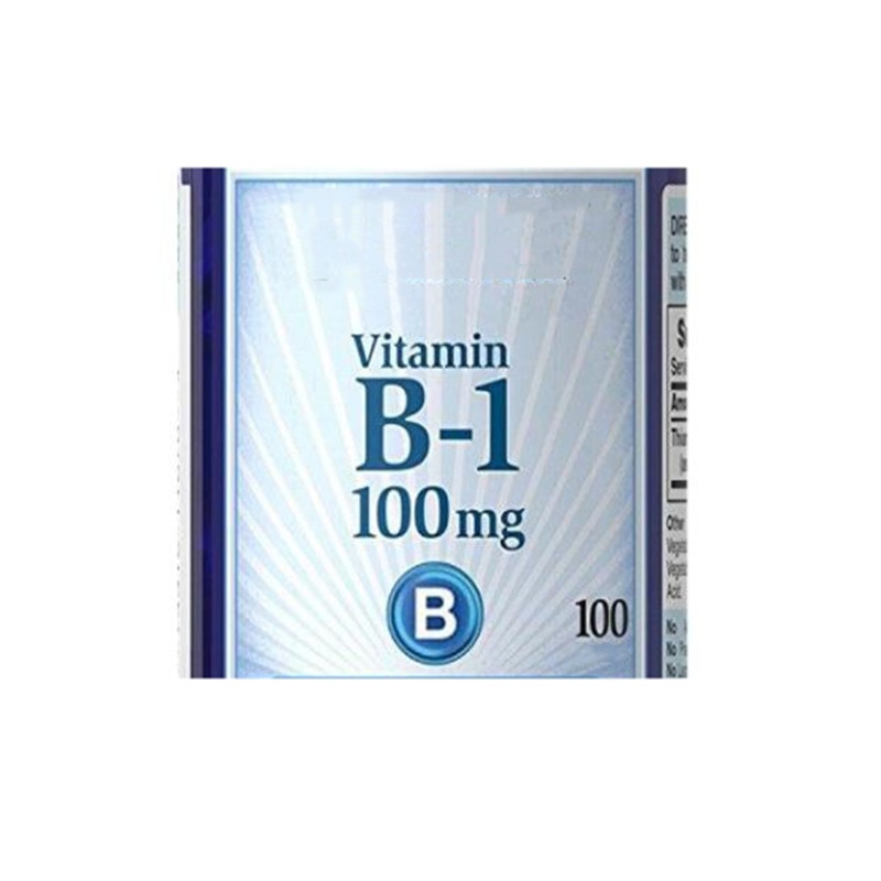 1bottle/2bottles Water-soluble vitamin vitamin B1 thiamine 100mg * 100 pcs/bottle